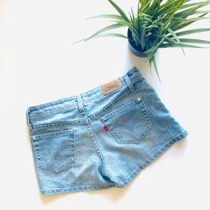 Levi Blue Jean Shorts